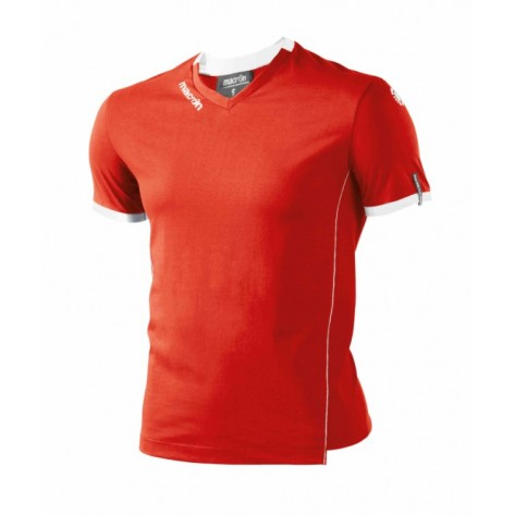 ARAL T-SHIRT ROSSO/BIANCO