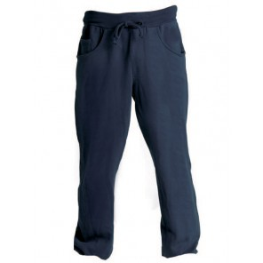 FITNESS PANTALONE DONNA IN FELPA BLU NAVY