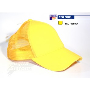 Cappellino Atlantis Rapper Destroyed Giallo