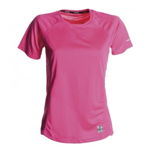 RUNNING LADY T-shirt tecnica-sportiva fuxia