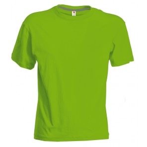 SUNSET T-shirt uomo verde acido