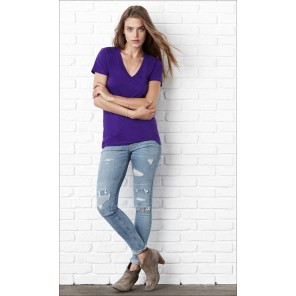 Bella+Canvas T-shirt donna scollo a V