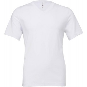 Bella+Canvas T-shirt uomo scollo a V